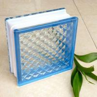 190*190*80mm Self-colored Glass Block Used In Bathroom With Certification