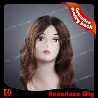 China F695-16#2T#4M#6BW 16 inches tone color mix color thin skin full lace wig on sale