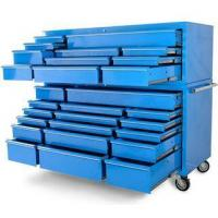 Buy cheap 72 Inches 28 drawer Heavy duty steel Blue rolling cabinet toolbox LC7228IBU from wholesalers