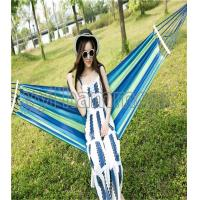 Quality canvas hammock with wooden stick for sale