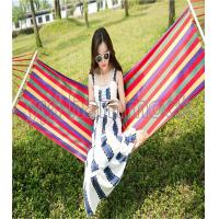 Buy cheap canvas hammock with wooden stick canvas hammock with wooden stick from wholesalers