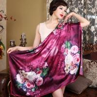 Wholesale 110*110 Square 100%Silk Scarf from china suppliers