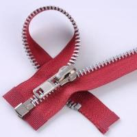 Buy cheap 8 Aluminium Zipper Open End with A/L Slider from wholesalers