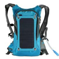Wholesale KUNDUI High quality 5V Solar Panel Battery Charging Travel Backpack USB Output Charger from china suppliers