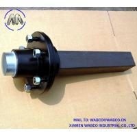 Wholesale 50mm Solid Square Agricultural Trailer Stub Axle from china suppliers