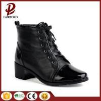 China 4cm high quality women genuine leather boots on sale