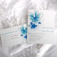 Wholesale Sweet Flower Life Wedding Invitations[ING030] from china suppliers