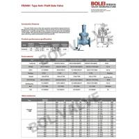 Wholesale FDZ45H Type Anti-theft gate valve from china suppliers