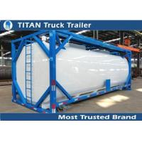 Wholesale ISO tank container tanker trailer for diesel fuel , petrol , palm oil transportation from china suppliers
