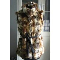 0420406 Ladies Fake fur Vest