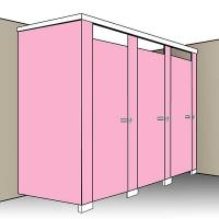 Fast-Track Toilet Cubicle