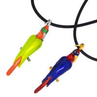 Wholesale Necklaces_Wholesale Enamel Bird Pendant Necklace(110442) from china suppliers
