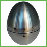 Kitchen Items 60 Minutes Mechanism Metal Stainless Steel Egg Kitchen Timer