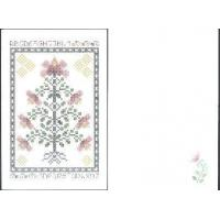 China Art Canvases #GC-3. Pink Magnolia Greeting Card on sale