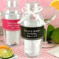 Personalized Cocktail Shaker with Cosmopolitan Mix