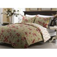 Wholesale Printed Machine Quilting Bedspreads And Coverlets 3pcs Color / Pattern Customized from china suppliers