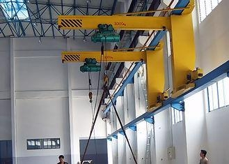 Electric Wall Slewing Wall Mounted Jib Crane With Chain