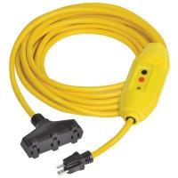 Buy cheap GFCI Inline Extension Cord with Triple Outlet from wholesalers