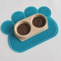 pet product supplies extra large size 23.6''35.4'' litter trapping mat Washable Non Slip Animal Mat