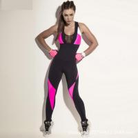 Wholesale Sport suit YG1099 Women s Sports Yoga Workout Gym Fitness Backless Jumpsuit from china suppliers