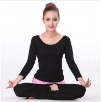 Wholesale Sport suit YG1111 Women s Long Sleeve Sport Yoga Suit Set Homewear from china suppliers