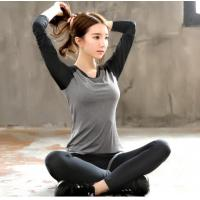 Wholesale Sport suit YG1002-1 Women Yoga Sets T shirts Fake Yoga Pants Fitness Sports Suit from china suppliers