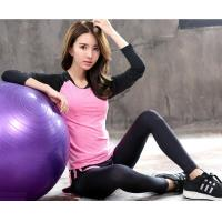 Wholesale Sport suit YG1002-2 Women Yoga Sets T shirts Fake Yoga Pants Fitness Sports Suit from china suppliers