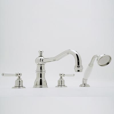 Tub And Shower Sets Perrin Rowe 4 Hole Bathroom Shower Faucet Of Item 52080372