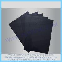 Wholesale PT-SP-002 Single Piece Self-adhesive PVC sheet for album, photo book, memory book, menu inner pages from china suppliers