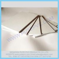 Wholesale PT-GP-006 gummed Self-adhesive PVC sheet for album, photo book, memory book, menu inner pages from china suppliers