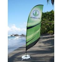 China Promotion flying teardrop banner stand with water injection flag on sale