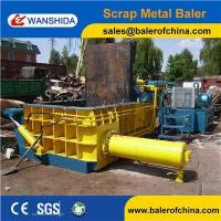 Wholesale China Scrap Metal Cast iron scrap baling press compactor Baler Factory from china suppliers