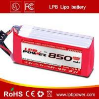 China Lipo battery 850mAh 11.1V 25C for RC helicopter on sale