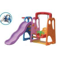 Wholesale Kids Plastic Slide and Swing Play Sets for Home from china suppliers