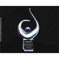 Quality Celebrate Success with this Triumphant Art Glass Award for sale