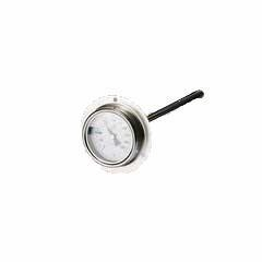 Quality Double metal thermometer clamp chuck connection stainless steel dial thermometer I400CF for sale