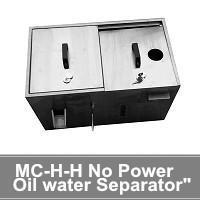 China Industrial Oil Skimmer No Power Oil water Separator on sale