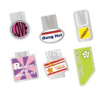 Wholesale Metal Promotional Gifts Printed Elastic Steel Bookmark from china suppliers