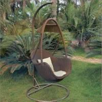 Wholesale GSD-OH3012 garden PE rattan hammock chair furniture from china suppliers