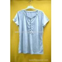 Wholesale 100%cotton women's jersey T-shirt from china suppliers