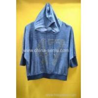 Wholesale 20%cotton 80%polyester women's hood leisure wear from china suppliers