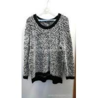 Wholesale 55%acrylic 45%polyester round neck women's loop yarn sweater from china suppliers