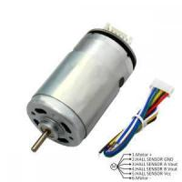 Buy cheap 6V RS555 DC Brush Motor With Encoder from wholesalers