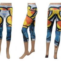 Wholesale Fashionable Custom Sportswear Colorful Women Sublimation Yoga Pants from china suppliers