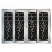 China Safety Sliding Security Door with Stainless Metal Steel Mesh (WX-SSS-102) on sale