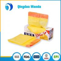 Wholesale Recycled HDPE / LDPE with D2W Plastic Biodegradable Drawstring Garbage Bag from china suppliers