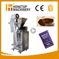 Instant coffee sachet packaging machine-Auto filling function-Honetop Machinery
