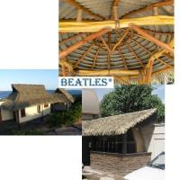 Good Quality Synthetic Thatch Tiles for Palm Leaf Hut