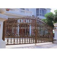 Wholesale Custom class forged iron products Continental Iron gates from china suppliers
