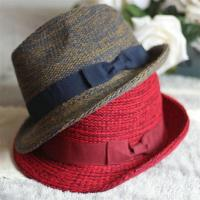 Wholesale 100% Acrylic Bowknot hats Fedora Solid Wide Large Brim Hats for Women from china suppliers